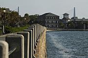Charleston South Carolina Waterfront Battery Print by Dustin K Ryan