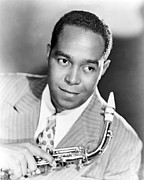 African-american Photo Framed Prints - Charlie Parker, Yardbird, 1920-1955 Framed Print by Everett