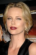 Charlize Theron Posters - Charlize Theron At Arrivals For In The Poster by Everett