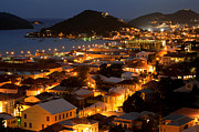 Charlotte Photo Prints - Charlotte Amalie St Thomas USVI Print by Susan E Degginger