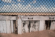 Earthworks Prints - Charlotte Beach Fence Print by Peter J Sucy