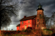 Rochester New York Photos - Charlotte-Genesee Lighthouse  by Joel Witmeyer
