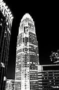 Charlotte North Carolina Bank Of America Building Print by Kim Fearheiley