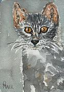 Feline Paintings - Charlotte by Pete Maier