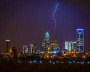 Lightning Prints - Charlotte Storm Print by Brian Young