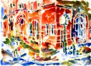 Paintout Prints - Charlottetown City Hall Print by Yevgenia Watts