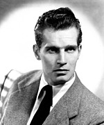 Publicity Shot Photos - Charlton Heston, Ca Early 1950s by Everett