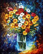 Floral Still Life Originals - Charm by Leonid Afremov