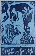 Printmaking. Reliefs - Charm by Preston -
