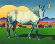 Mare Paintings - Charmeon by Stacey Neumiller
