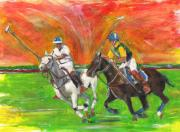 Sports Pastels - Chase by Debora Cardaci