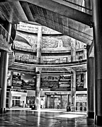 Foyer Prints - Chase Field Foyer Print by Arne Hansen