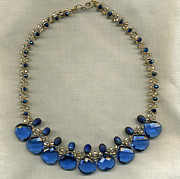 Blue Jewelry - Chasing Away the Blues by Allie Hafez