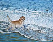 Labrador Originals - Chasing Coconuts by Danielle  Perry