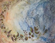 Abstract Map Originals - Chasing the Starlight by Lesley Atlansky
