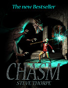 Harry Potter Digital Art - Chasm Book Cover Design by Steve Thorpe
