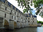 \\\\joan Minchak\\\\ Framed Prints - Chateau Chenonceau Framed Print by Joan  Minchak