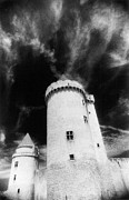 Black And White Photos Photos - Chateau de Blandy les Tours by Simon Marsden