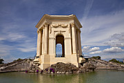 Montpellier Prints - Chateau de Peyrou in Montpellier Print by Evgeny Prokofyev