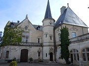 Marilyn Dunlap Photos - Chateau de Sainte Sabine by Marilyn Dunlap