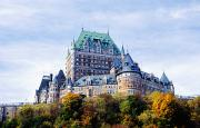 Chateaux Prints - Chateau Frontenac Print by Axiom Photographic