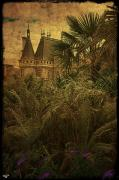 Rooftops Digital Art - Chateau in the Jungle by Chris Lord