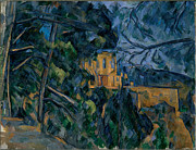 Cezanne Prints - Chateau Noir Print by Extrospection Art