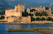 Languedoc-rousillon Prints - Chateau Royal, 13th Century Castle, Collioure, Languedoc-roussillon, France, Europe Print by John Elk III