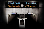 Selective Colouring Prints - Chateau Tununda Print by Anthony Mancuso