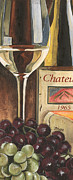 Aged Paintings - Chateux 1965 by Debbie DeWitt