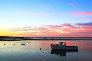 Chatham Prints - Chatham Harbor at Dawn Print by Roupen  Baker