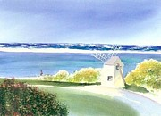 Chatham Harbor July Print by Joseph Gallant