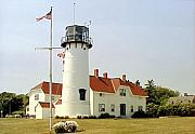 Lighthouse Photographs By Frederic Kohli - Chatham Lighthouse by Frederic Kohli
