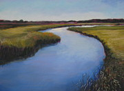 Salt Pastels Prints - Chatham Marsh Print by Jeanne Rosier Smith