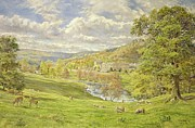 Chatsworth Print by Tim Scott Bolton