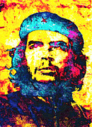 Unique Art Posters - Che Guevara Poster by Juan Jose Espinoza
