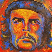 Theorist Paintings - Che by Pete Lopez
