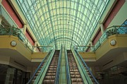 Escalator Framed Prints - Cheap Art Framed Print by Robert Harmon