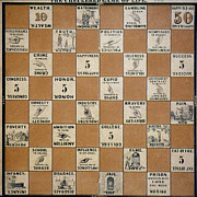 Board Game Photos - Checkered Game Of Life, by Granger