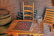 Historical Digital Art - Checkers Anyone by Linda Phelps