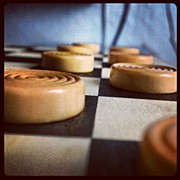 Likeaboss Art - #checkers #games #brown #black by Pic Mania