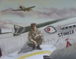 Usaaf Paintings - Checkertail Clan Man by Daniel Kansky
