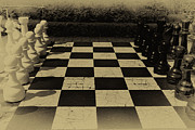 Old English Game Prints - Checkmate Print by Sara Messenger