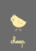 Chick Prints - Cheep Print by Promise Paintings