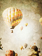 Balloon Art Print Prints - Cheerful Print by Andrea Hazel Ihlefeld