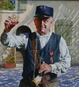 Police Paintings - Cheers by David McEwen