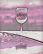 Cheers On Icy Snow Print by Phyllis Kaltenbach