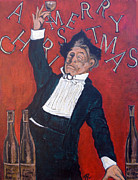 Toast Paintings - Cheers by Tom Roderick