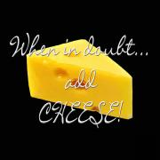 Doubt; Prints - Cheese Print by Methune Hively