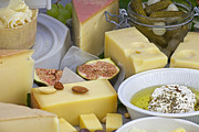Food And Beverage Photos - Cheese plate by Joana Kruse